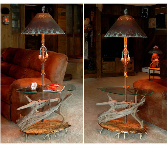 Floor lamps southwest style floor lamp mozeypictures